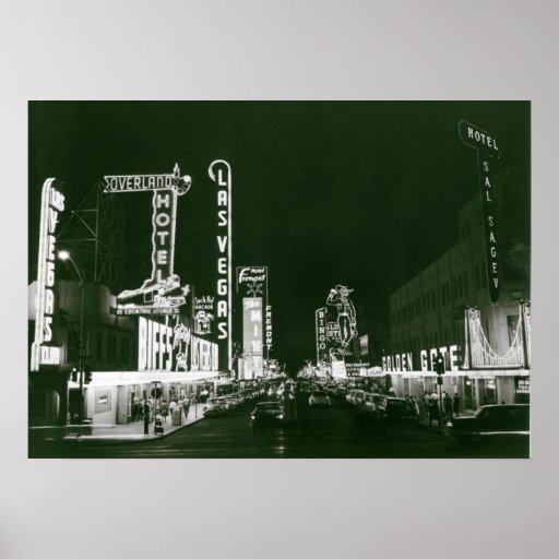 Classic Las Vegas Poster