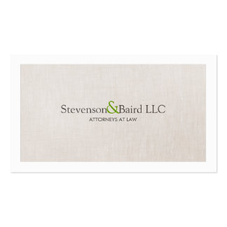 Classic Law Practice Attorney Professional Double-Sided Standard Business Cards (Pack Of 100)