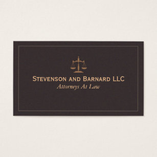 Lawyer business cards templates zazzle classic lawyer attorney business card fbccfo Choice Image