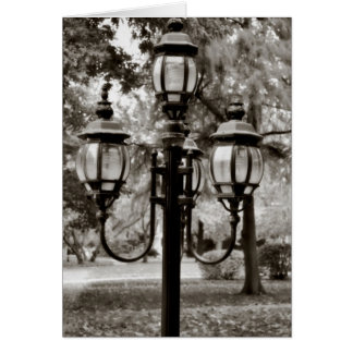 Classic light stand (outdoors) card
