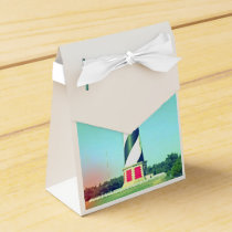 Classic Lighthouse favor box