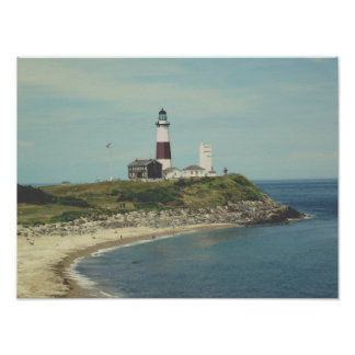 classic lighthouse poster