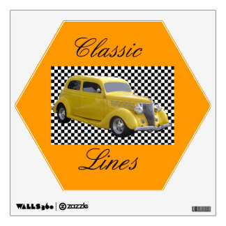 Classic Lines Wall Sticker
