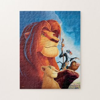Classic Lion King Poster Art Jigsaw Puzzle