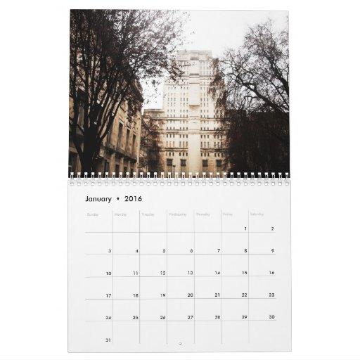 classic LONDON -2- Calendar