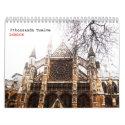 classic LONDON calendar