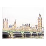 classic LONDON Postcard