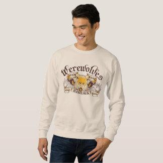 Classic long-sleeved sweatshirt werewolf sudaderas encapuchadas