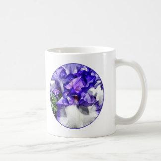 Classic Look Iris Closeup Classic White Coffee Mug