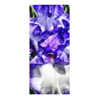 Classic Look Iris Closeup Rack Card