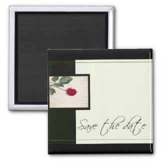 Classic Look Save the Date Magnet