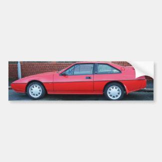Classic Lotus Eclat Sportscar Bumper Sticker