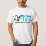 Classic Love Is The Cure Logo Tee