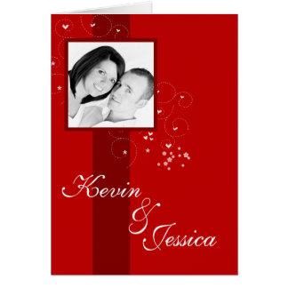 Classic Love Photo Valentine s Day Card