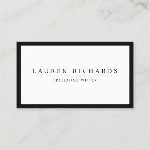 Social media business cards zazzle classic luxe black and white with social media business card colourmoves