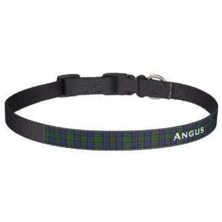 Classic MacEwen Tartan Plaid Custom Dog Collar