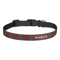 Classic MacFarlane Plaid Custom Dog Collar