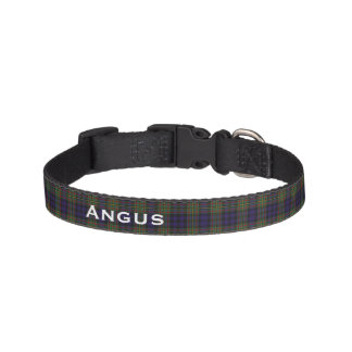 Classic MacLellan Tartan Plaid Custom Dog Collar