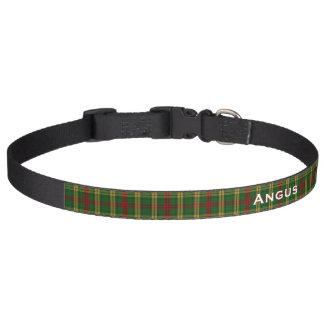 Classic MacMillan Tartan Plaid Custom Dog Collar