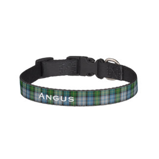 Classic MacNeil Tartan Plaid Custom Dog Collar