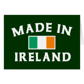 Classic Made In Ireland Cards