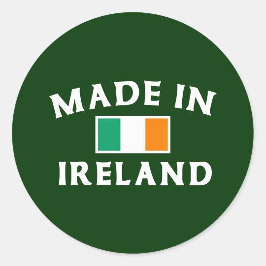 Classic Made In Ireland Classic Round Sticker