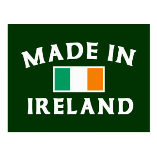 Classic Made In Ireland Post Cards