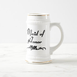 Classic Maid Of Honor Beer Stein