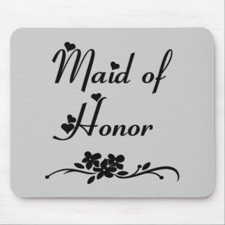Classic Maid Of Honor Mousepads