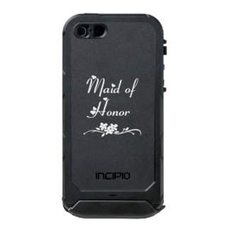 Classic Maid of Honor Waterproof iPhone SE/5/5s Case