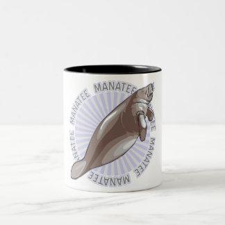 Classic Manatee Two-Tone Coffee Mug