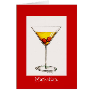 Cocktail greeting cards zazzle for Cocktail 8 4
