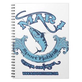 Classic Mar 1 Sport Fishing Spiral Note Book