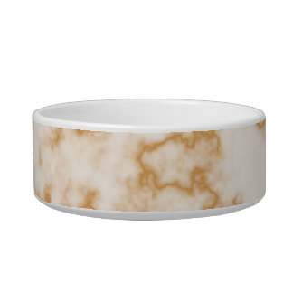 Classic Marble Pattern Background Pet Bowl
