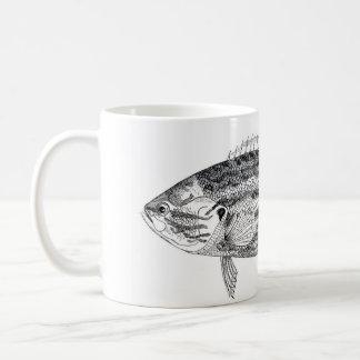 Classic Marine Etching - Red Spotted Sunfish Coffee Mug