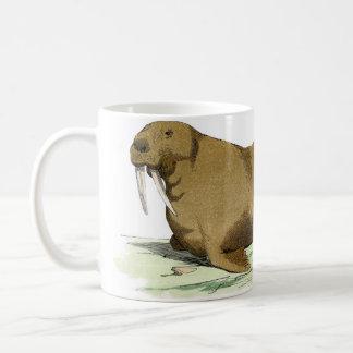 Classic Marine Etching - Walrus Coffee Mug