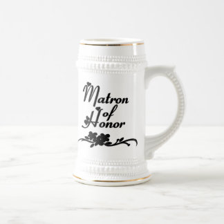 Classic Matron of Honor Beer Stein