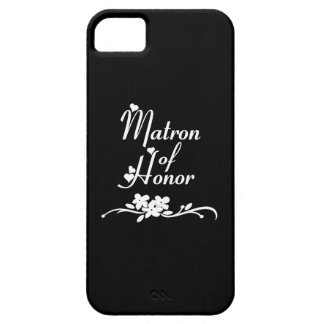 Classic Matron of Honor iPhone SE/5/5s Case