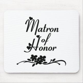 Classic Matron of Honor Mousepad