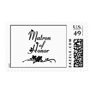 Classic Matron of Honor Postage
