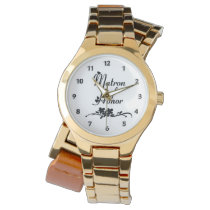 Classic Matron of Honor Wrist Watch