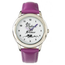 Classic Matron of Honor Wristwatch