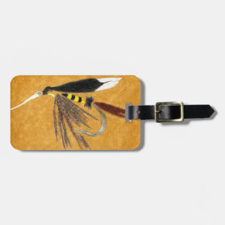 "Classic ""McGinty"" Wet Fly Luggage Tag"