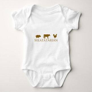 Classic Meatatarian Baby Bodysuit