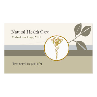 Classic Medicine Elegant Double-Sided Standard Business Cards (Pack Of 100)