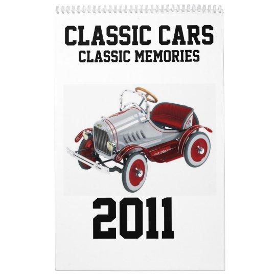 Classic Memories - 2011 Calendar