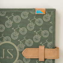Classic Mens Bicycle Pattern Journal