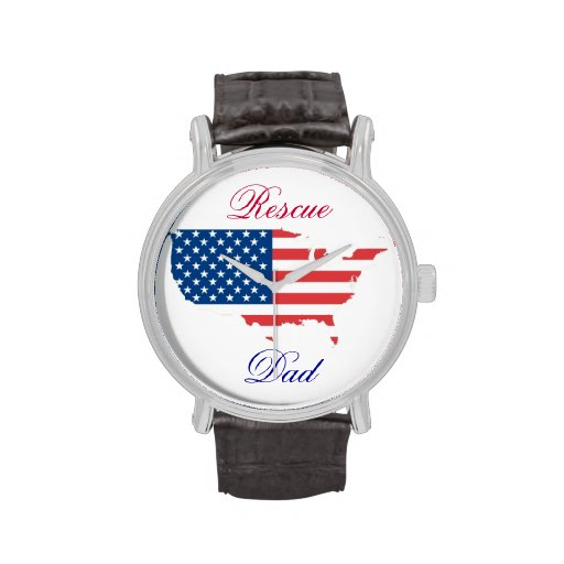 Classic Mens Watch w/Image and Personalized Title