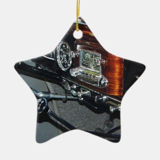 Classic mercedes dashboard ceramic ornament zazzle for Mercedes benz christmas ornament