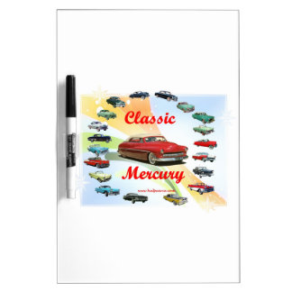Classic_Mercury_Red Dry-Erase Whiteboard